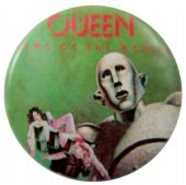 Queen - 'News of the World Green' Button Badge